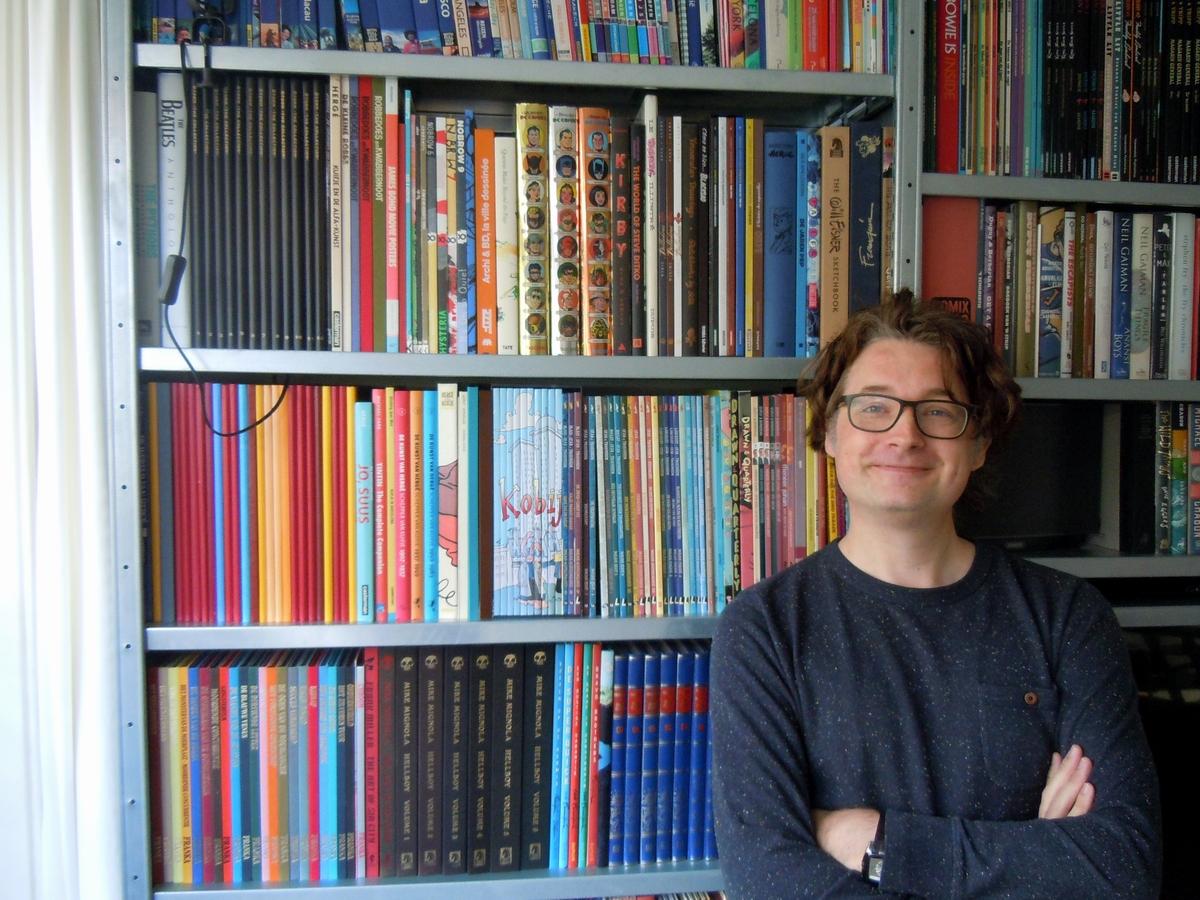 Incognito Comics: Eppo 1 - Boekenkast van Michiel Offerman