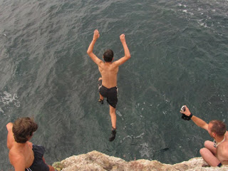 Cliff Jumping - Toma Borcea
