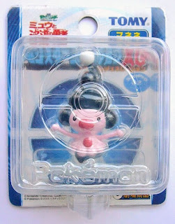 Mime Jr. figure clear version Tomy Monster Collection 2005 movie promotion