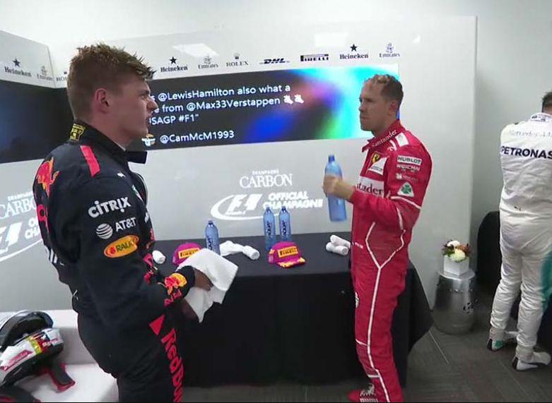 GP USA F1: vince Hamilton, sul podio le Ferrari, Verstappen penalizzato a fine gara