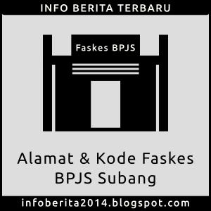 Alamat dan Kode Faskes BPJS Subang