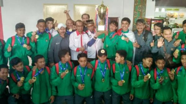 Jadwal Siaran Langsung Timnas Indonesia di Piala AFF U-15 2017