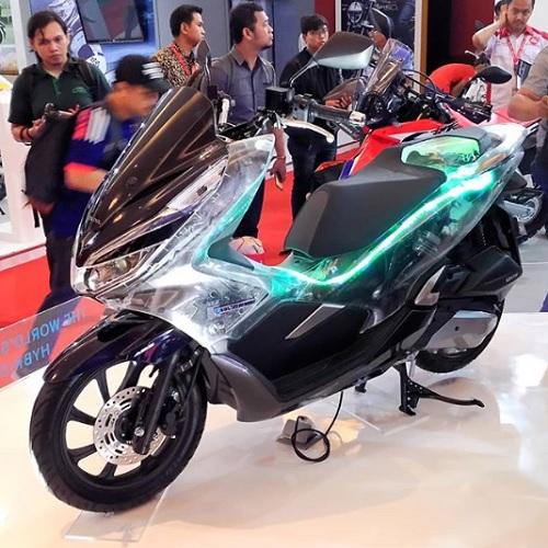 Honda PCX Hybrid di jawa tengah