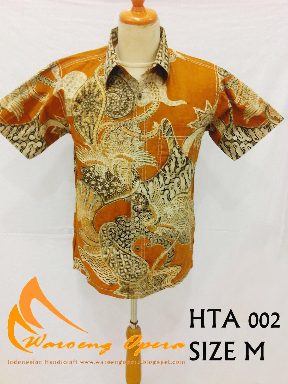 Batik Grosir Waroeng Opera Indonesian Craft  Batik Cowok Modern e2c813111f