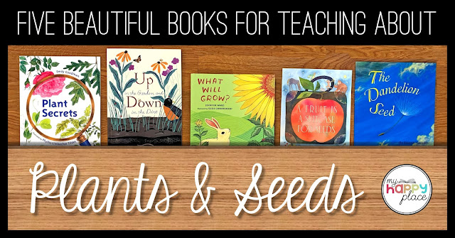 five picture books for your plants unit in kindergarten, first grade