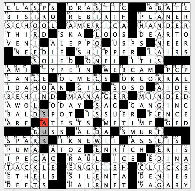 Rex parker does the nyt crossword puzzle wings to zoologists sun theme places everyone circled square answers are all two part answers where first part must be inferred by the answers place in the grid for the malvernweather Images