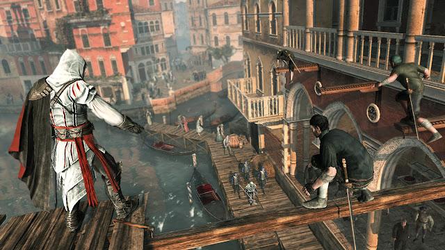 تحميل لعبة الاكشن والمغامرات Assassin's Creed II كاملة مرفوعة على المعشوقة ميديا فاير