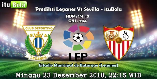 Prediksi Leganes Vs Sevilla - ituBola