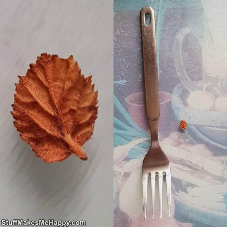 18. Either this fork of a giant, or it's a mini leaf