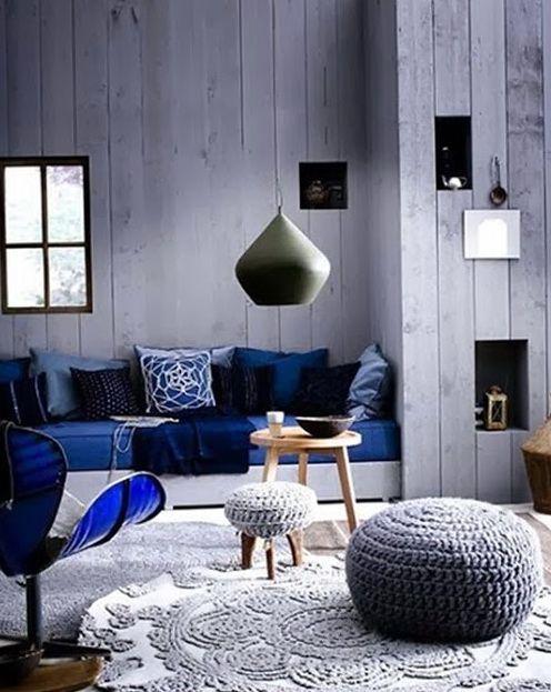 PUNTXET Inspiración para decorar con puffs de crochet #deco #decor #decoracion #decoration #hogar #home #puffs #crochet #ganchillo #handmade #DIY #inspiracion #inspiration