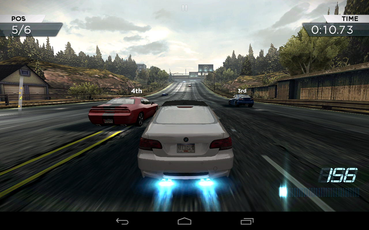 Nfs Most Wanted Android free download