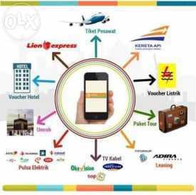 Reservasi Online Tiket Pesawat, Kereta Api, Voucher Hotel dan Antar Jemput Bandara