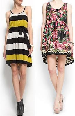 vestidos de mango para playa 2012