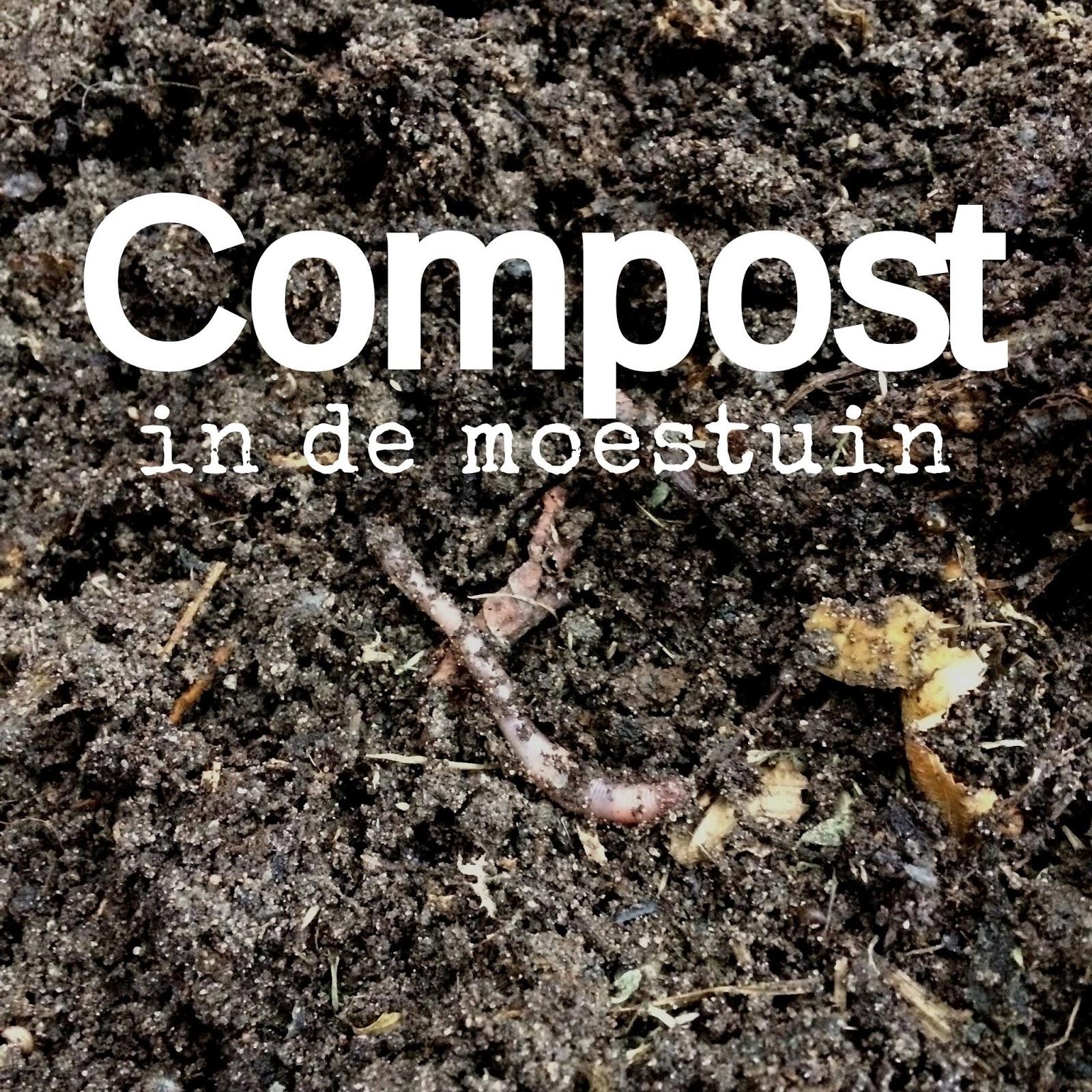 compost verspreiden moestuin tip volkstuin composteren