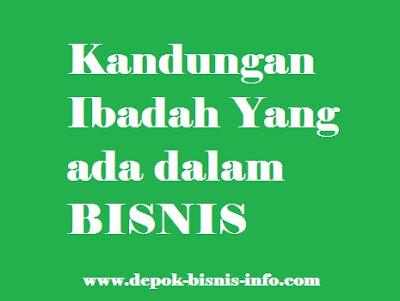 Bisnis, Ibadah, Info