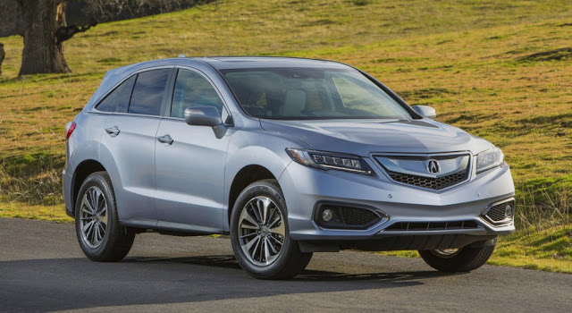 2017 Acura RDX Review UK