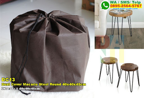 Dust Cover Macario Stool Round 40x40x45cm