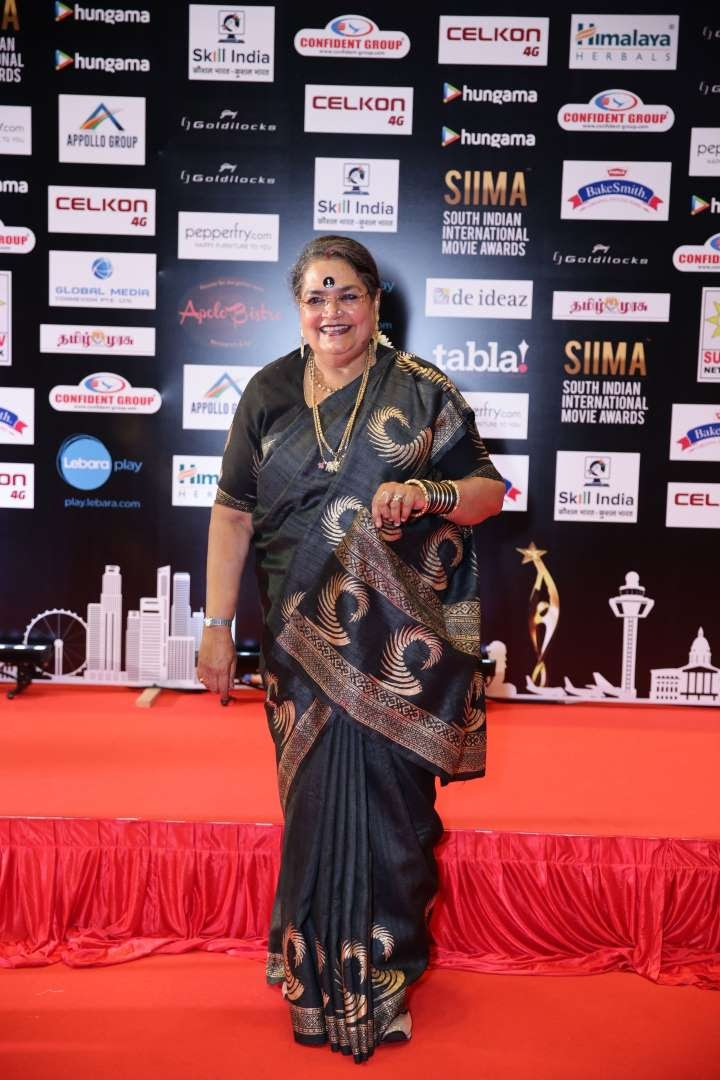 Usha Uthup was among the singers at SIIMA
