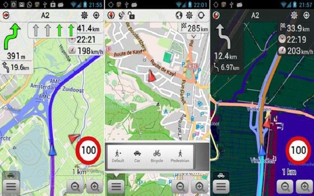 أفضل تطبيقات الخرائط و الملاحة GPS التي تشتغل بدون الاتصال بالانترنت على الهاتف