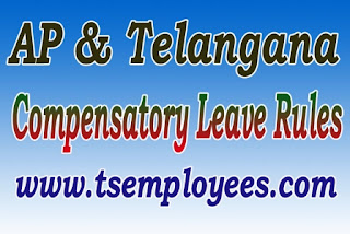 AP Govt Employees and Telangana Compensatory Leave Rules Holidays