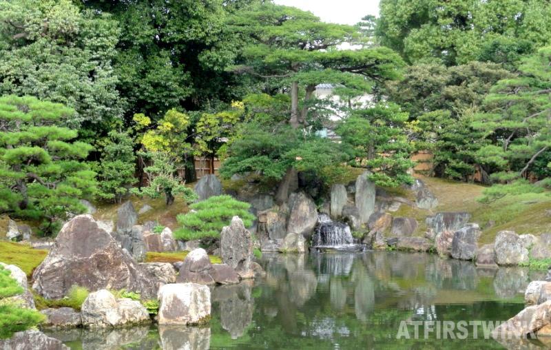 Ninomaru garden nijo castle kyoto japan