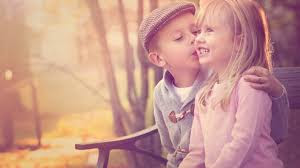 Top latest hd Baby Boy to Girl frist kiss images photos pic wallpaper free download 4