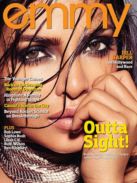 Actress, Singer, @ Priyanka Chopra - Emmy Magazine May 2016