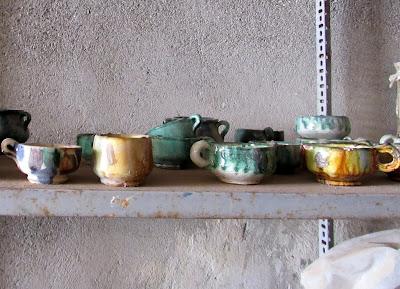 Cerámica antigua de Níjar. Barrio alfarero de Níjar. Alfarería en Níjar