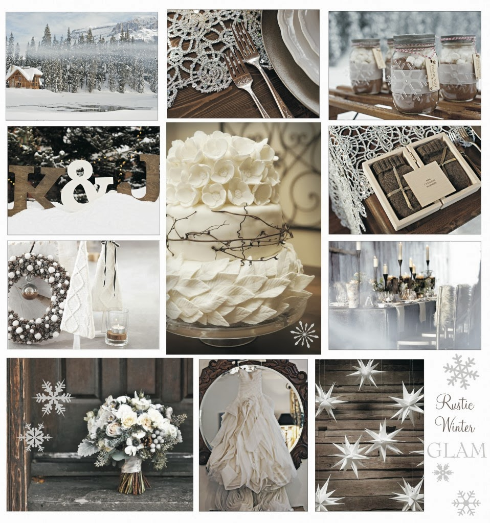 30 Inspirational Rustic Barn Wedding Ideas: Winter Feest En Bruiloft Decoratie In