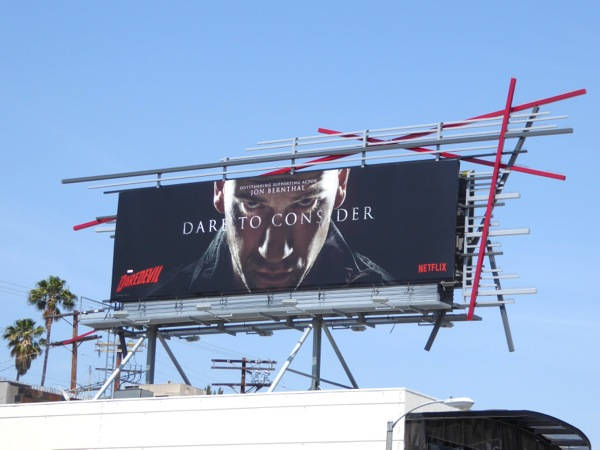 Dare to Consider Jon Bernthal Daredevil 2016 Emmy billboard