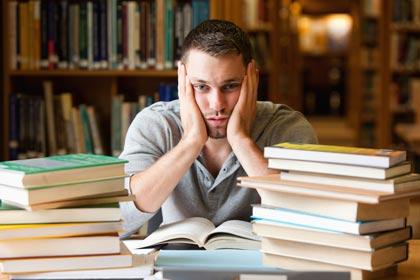 penat dan susah belajar