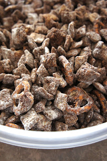Chocolate Coffee Toffee Chex Mix: Savory Sweet and Satisfying