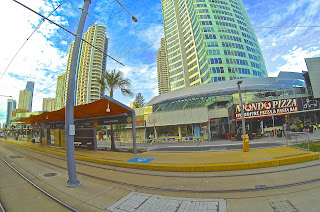 Surfers Paradise Station Q1 Back Ground