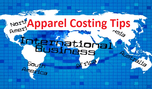 Apparel costing tips for domestic and international market