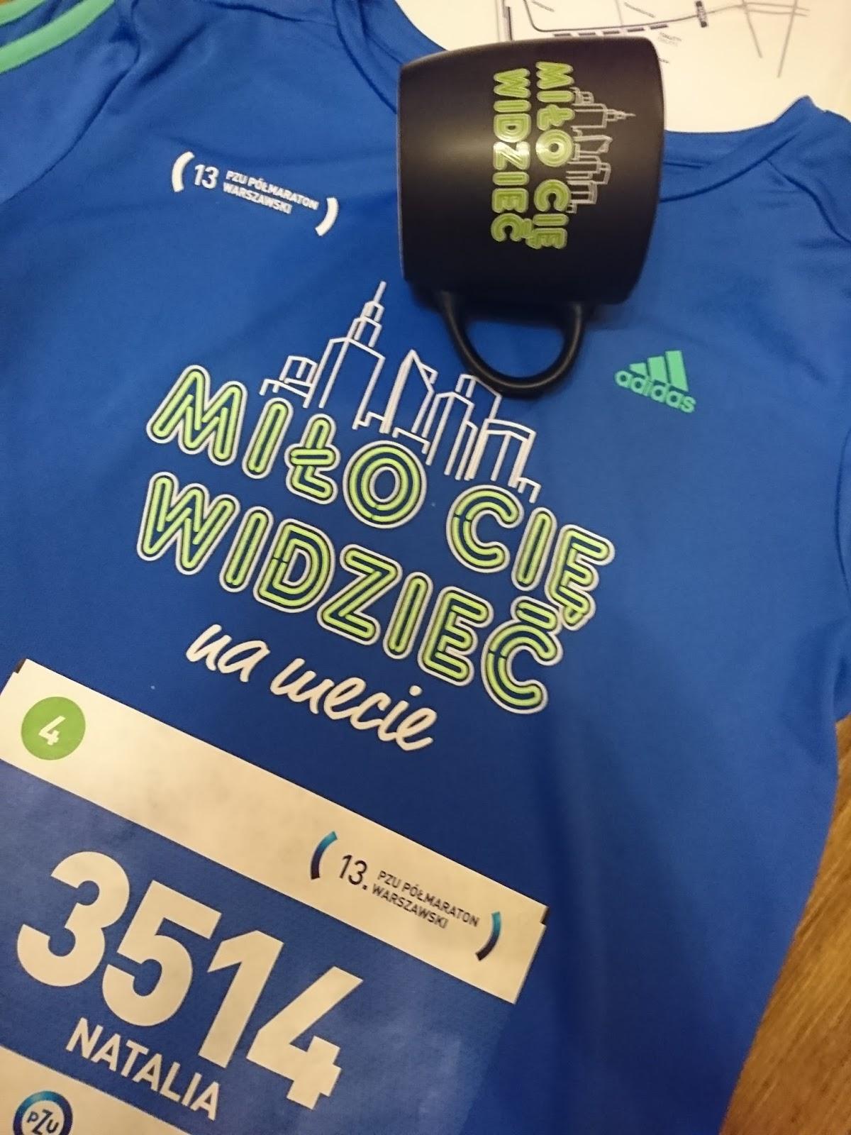 ab0d127c765665 Natalia Biega Jak Szalona: Expo 13 PZU Półmaraton Warszawski