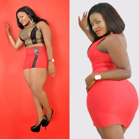In A Recent Interview Popular Nollywood Actress Evia Simeon Said She Believes That Most Nigerian Men Tend To Love Women With Big Bum Than With Big Boobs