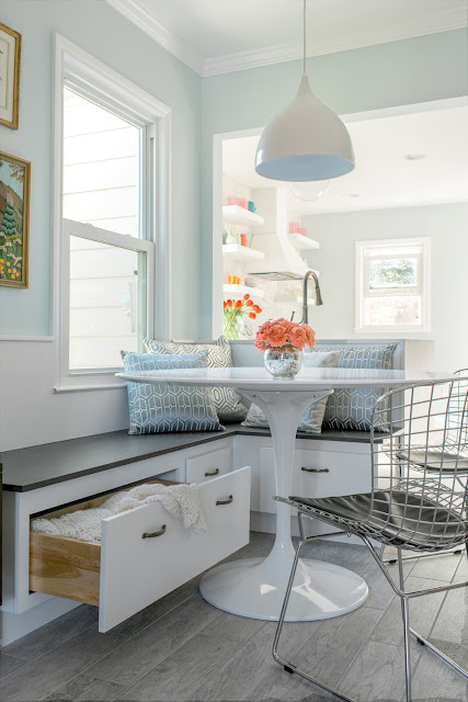Beautiful Breakfast Nooks {Cool Chic Style Fashion}