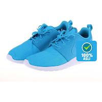 Alfacart Sepatu Pria NIKE Rosherun Blue Laguna-White ANDHIMIND