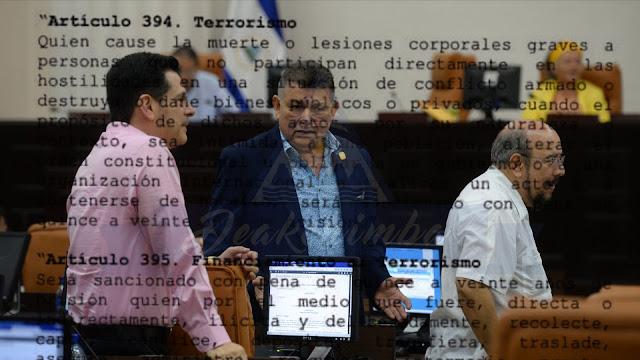 Aprueban ley contra el terrorismo en tiempo record