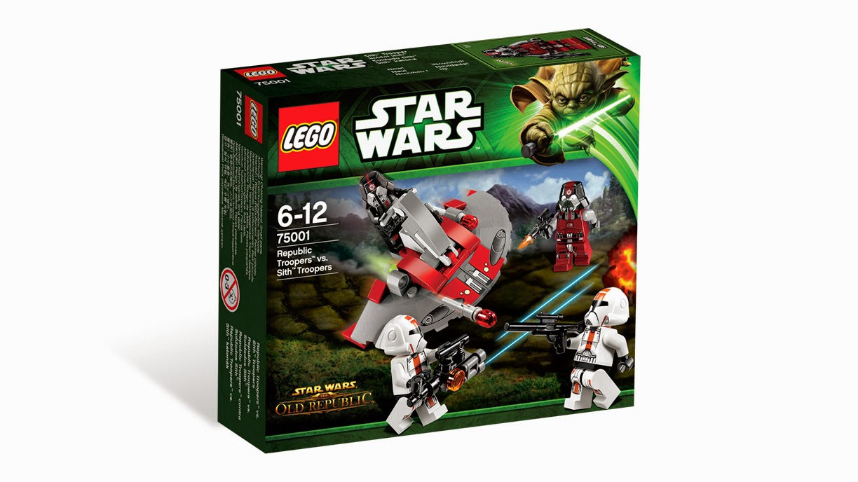 Now Available Amazon.com: LEGO Star Wars 75001 - Republic Troopers vs Sith Troopers