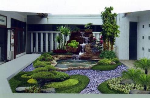 taman belakang rumah minimalis type 36 - info terkait rumah