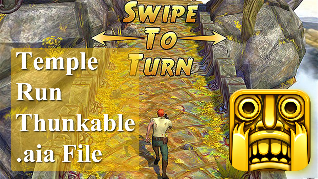 Thunkable Game Temple Run aia file Free Download - Farhan's Online