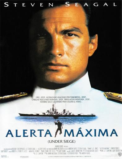 Ver Alerta máxima (Under Siege) (1992) Online