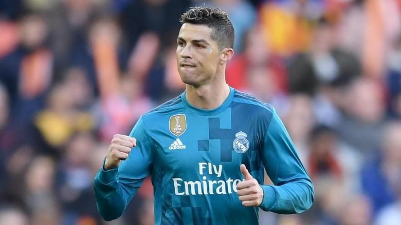 Ronaldo Tetap Merasa ''Cool'' Ada Luka di Wajahnya