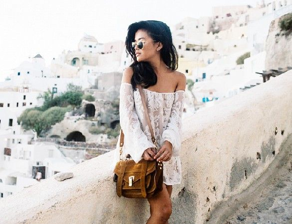 street style, casual, sunglasses, lace dress