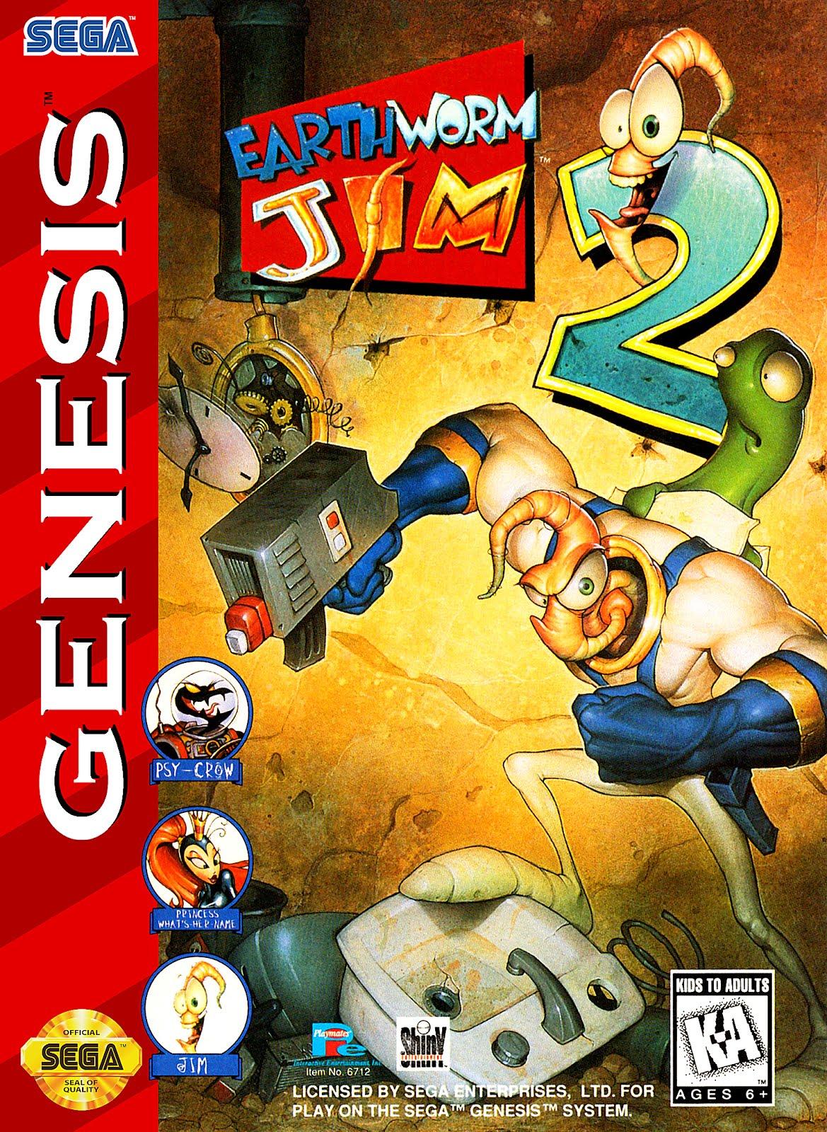 Earthworm Jim 2 - Download Sega Genesis Roms Online For Free