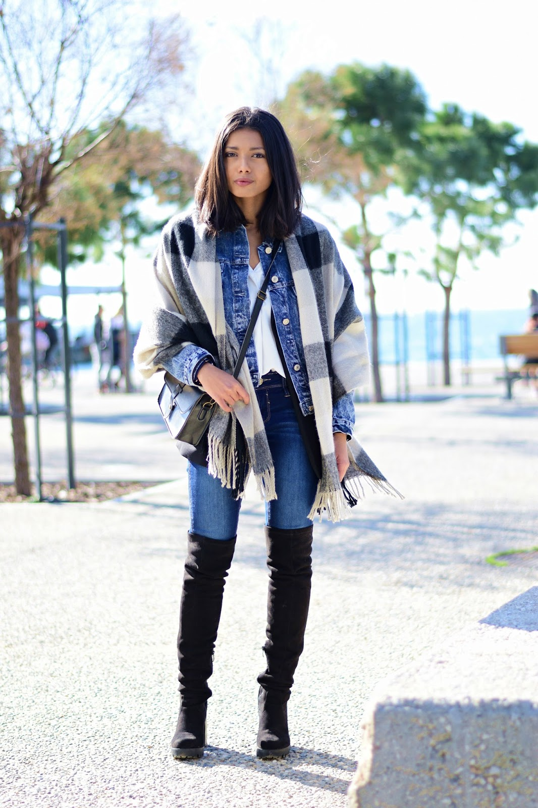k meets style How to to layer a winter look