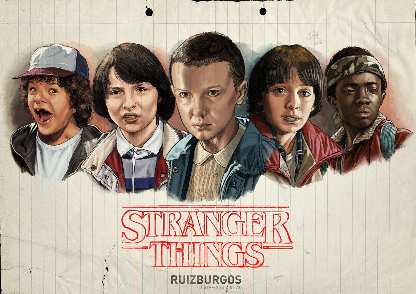 Vem spelar eight stranger things