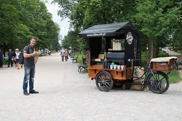 Palacio Wilanów Varsovia cafe