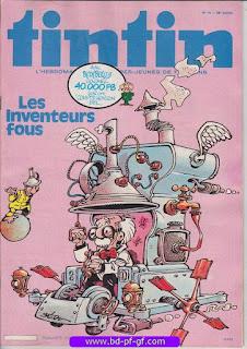 Tintin-numéro 16, année 38,  1983, Bédu